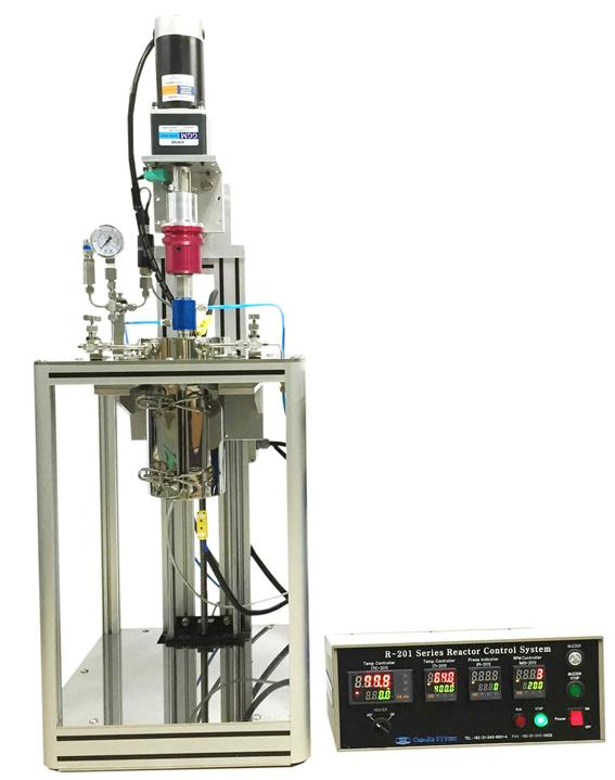 R-201 Model High Pressure Stirred Reactor System, R-202 Model High Pressure Oven Reactor System